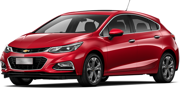 Chevrolet Cruze 5 - Tu Hatchback Color Rojo