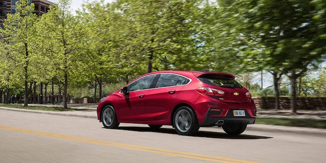 Chevrolet Cruze 5 - Tu Hatchback en Movimiento