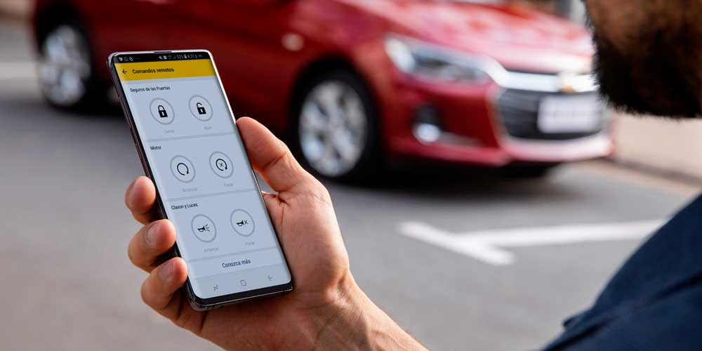 Chevrolet Onix - MyChevrolet App en tu auto moderno