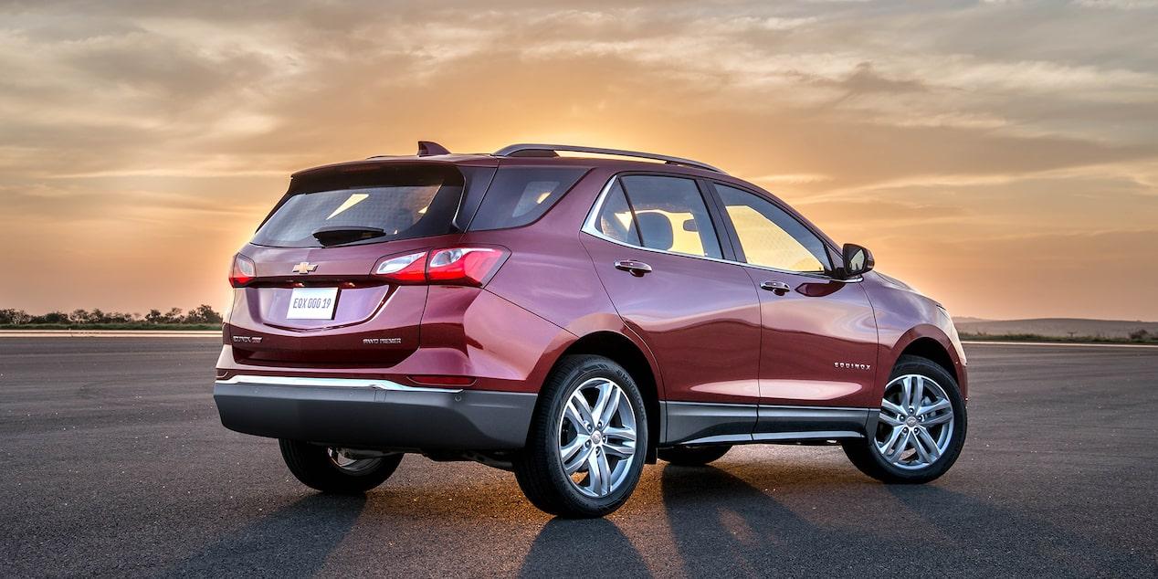Chevrolet Equinox - Angulo trasero de tu camioneta SUV