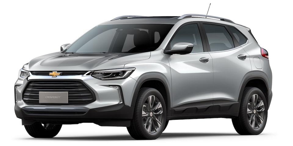 Chevrolet Nueva Tracker - Exterior gris de tu SUV