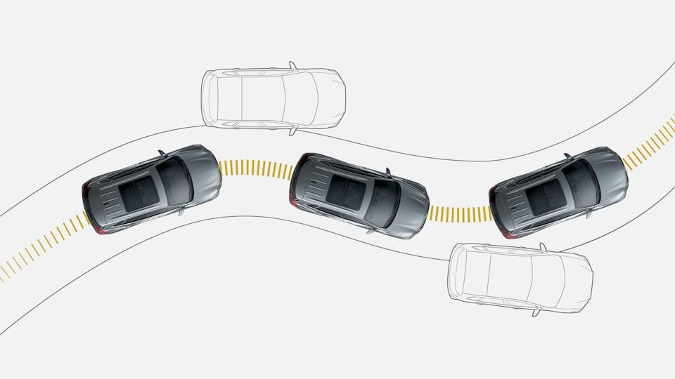 Chevrolet Nueva Tracker - Tu SUV cuenta con control de estabilidad y tracción