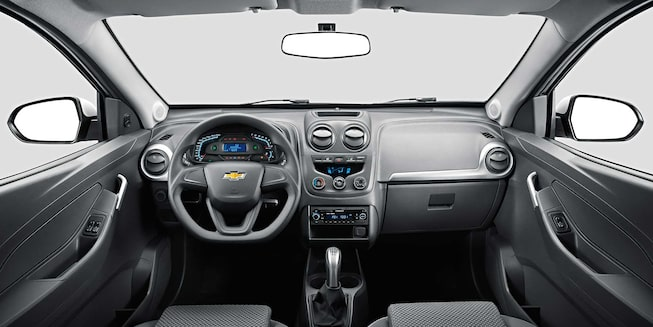 Chevrolet Montana - Interior de tu Camioneta Pick Up