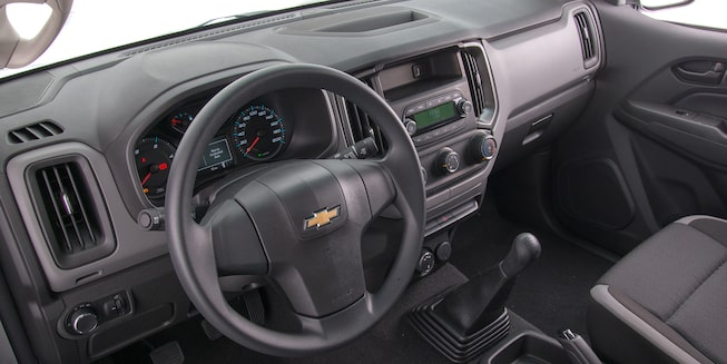 Chevrolet S10 Cabina Simple - Interior de tu Pick Up