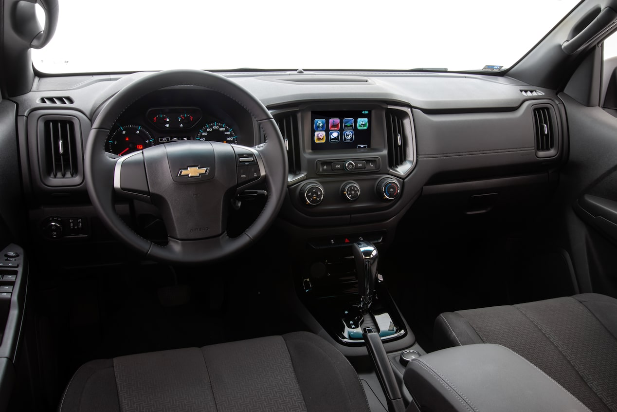 Interior de tu 4x4Chevrolet S10 Midnight -
