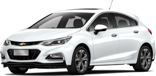 Chevrolet Cruze 5 - Tu Hatchback Color Blanco Cumbre